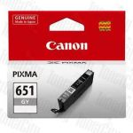 Canon CLI-651GY Grey Genuine Inkjet Cartridge