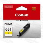 Canon CLI-651Y Yellow Genuine Inkjet Cartridge