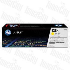 HP 128A (CE322A) Yellow Genuine Toner Cartridge